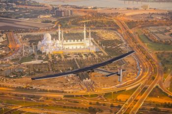 The First Round-The-World Solar Flight