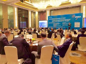 Interpreting Services for 4th VDMA Mechanical Engineering Summit China