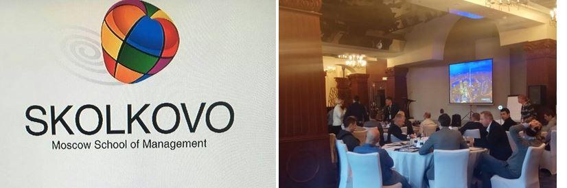 SKOLKOVO, technical support for a Conference Interpretation