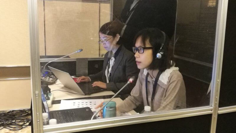 Conference Interpreter, Five minutes with Silvia D.