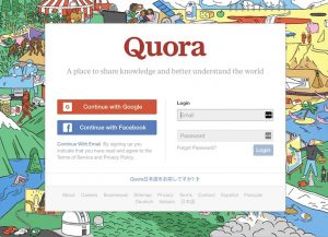 Quora, Q&A Application, American online opinion application