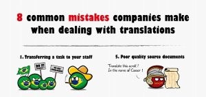 The most common mistakes made when dealing with translation