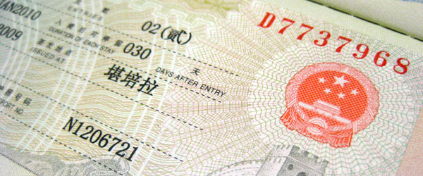 Chinese visa, translations official documents