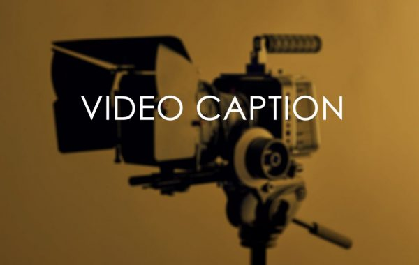 Subtitling and Video Caption Service
