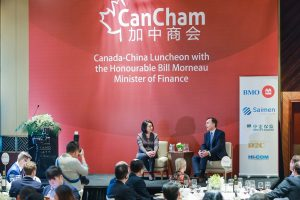 Simultaneous Interpretation English to Chinese mission for CanCham