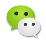 réseaux sociaux chinois, wechat, logo wechat