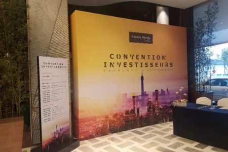 French interpreting, investment conference, French hotel brand
