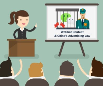 Wechat Content & China's Advertising Law