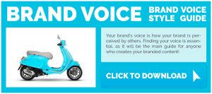 brand voice guideline