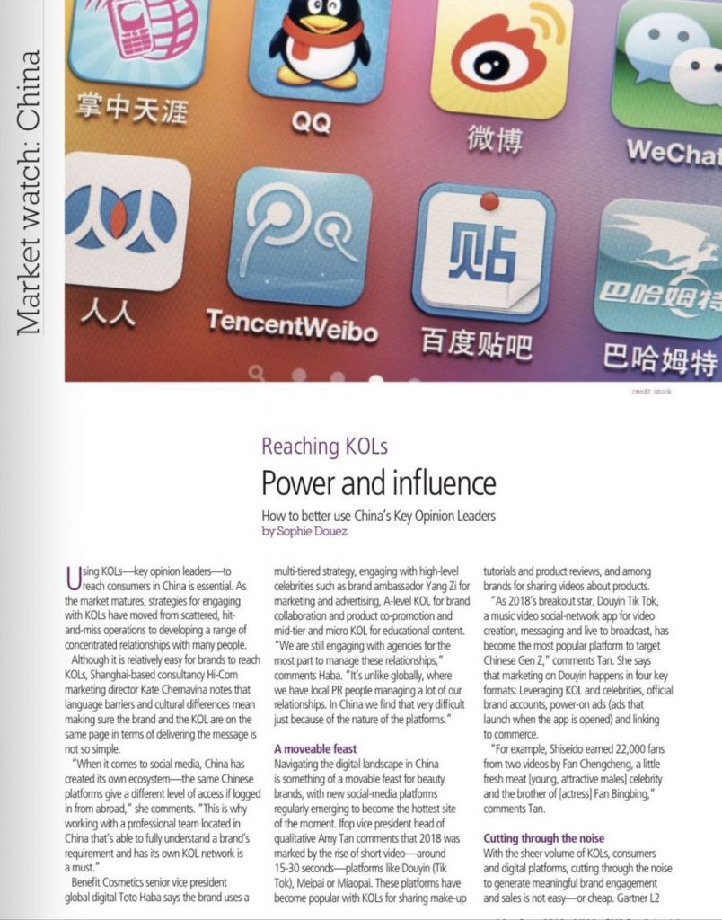 bwconfidential Influencer marketing china2