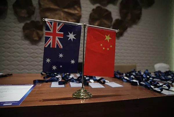 chine et australie