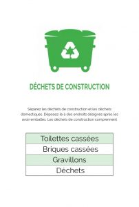 déchets de destructions