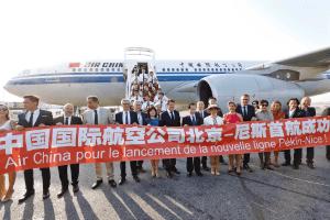 Nouvelle ligne Pékin-Nice: les opportunités pour les acteurs du tourisme