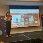 Interpreting for Socialbakers' network event