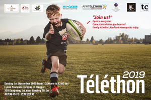 HI-COM is proud to sponsor the Rugby Telethon 2019