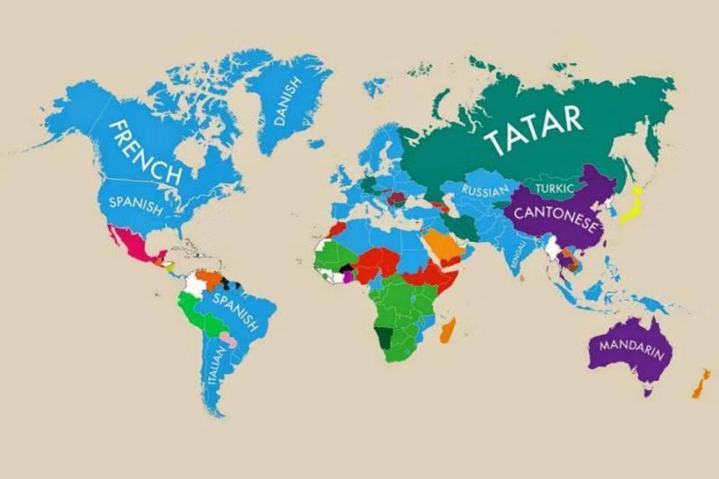 Découvrez quelle est la deuxième langue la plus parlée sur chaque continent ! HI-COM