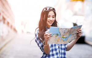 Tourisme girl