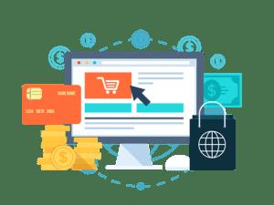 e-commerce ordinateur technologie