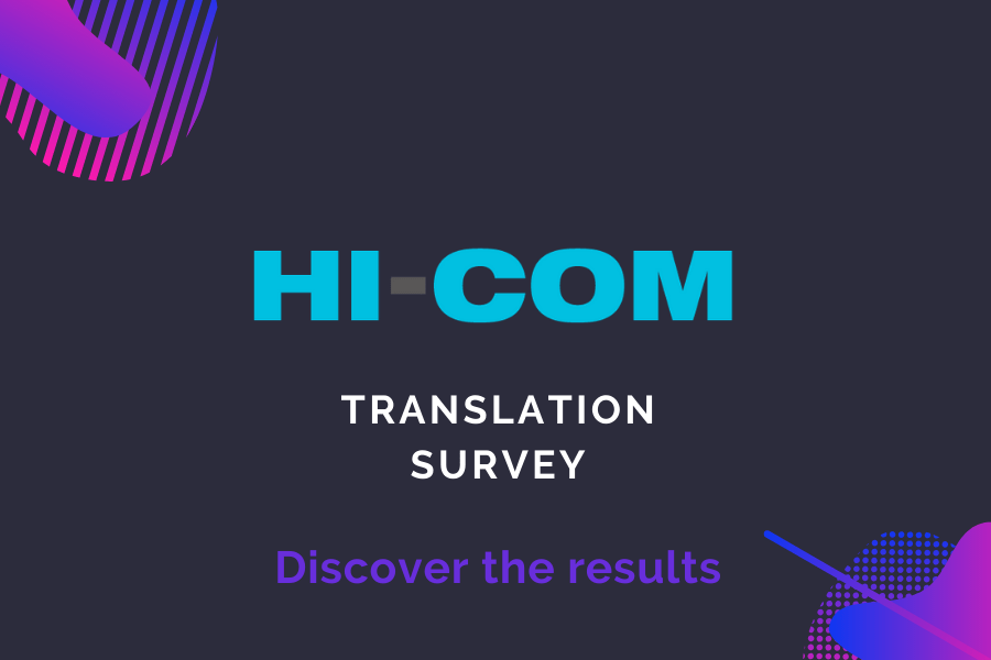 Translation Survey – HI-COM