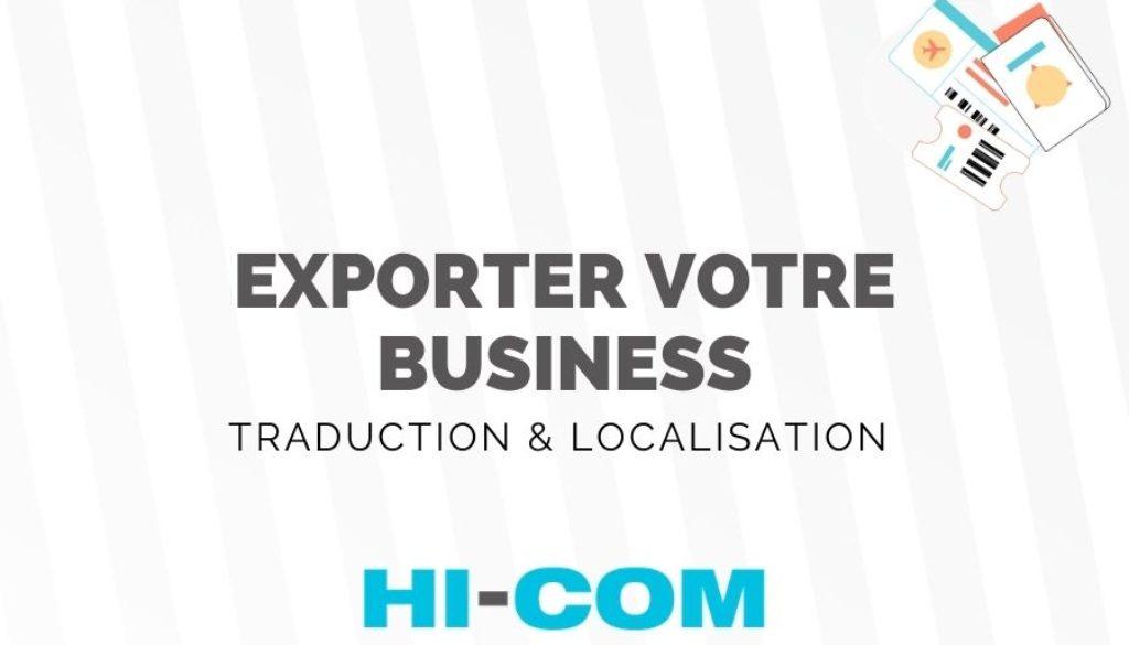 exporter son business en CHine