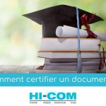 comment certifier un document