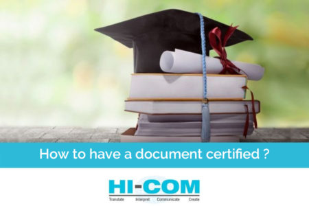 translation of certified documents china