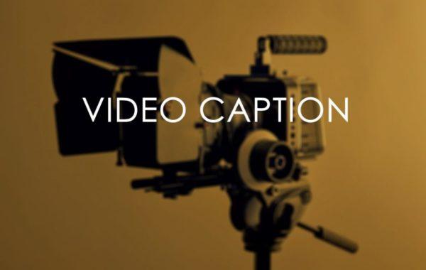 video captioning