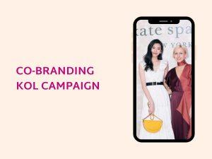 cobranding kol marketing campaign china